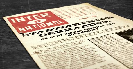 Zeitung International, Troisdorf. Foto © Dietrich Hackenberg
