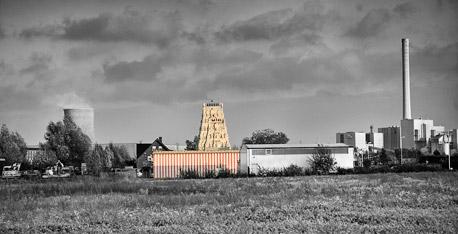 Hindutempel, Hamm-Uentrop.  Foto © Dietrich Hackenberg