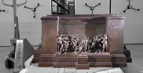 Pastorius-Denkmal Krefeld. Foto © Dietrich Hackenberg